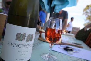 Wine Tasting at the Swinging Gate Cellar Door